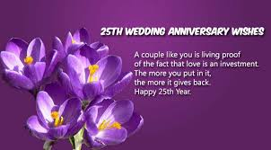 25th Wedding Anniversary Wishes Messages Index Of Wp Content Uploads 2016 01