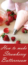 best 25 strawberry buttercream frosting ideas on