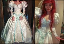 wedding dress costume ariel disney princesses by mayumi345 acparadise