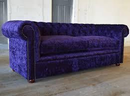 Purple Velvet Chesterfield Sofa Velvet Chesterfield Sofa Abode Sofas