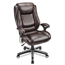 Realspace Office Furniture by Realspace Endsleigh Executive Big Tall Bonded Leather Chair