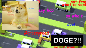 Doge Pronunciation Meme - doge pronunciation crossy road characters ios character