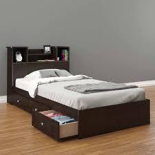 Full Storage Beds Nexera Pocon Headboard Espresso Multiple Sizes Walmart Com