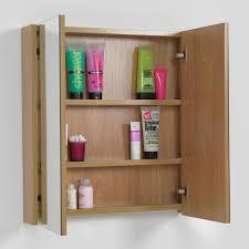 odessa oak 2 door mirror cabinet victoria plumb 94sg new