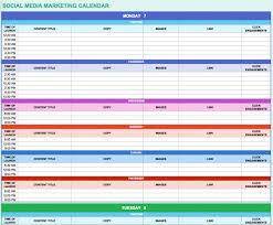 Excel 2010 Calendar Template 12 Free Social Media Templates Smartsheet Marketingeditorialcalen