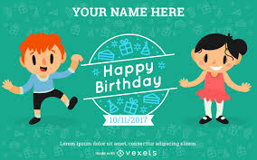 Birthday Invitation Card Maker Birthday Vector U0026 Graphics To Download