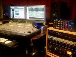 Home Studio Mixing Desk by Jordan Sobolew Cool Room
