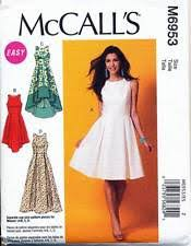 dress pattern fit and flare burda sewing pattern 7080 misses sz 6 18 fit flare dress with