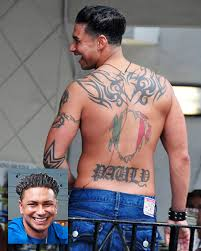 8 male celebrities with tramp stamps