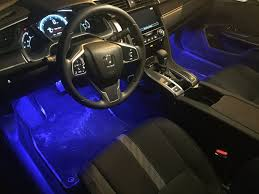 how to hook up led light strips in car led footwell lights 2016 honda civic forum 10th gen type r