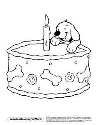 clifford printables puppy coloring pages pbs kids clifford