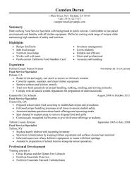 Sample Cook Resume Building A College Resume Resume Cost Accountant Fresher Faking