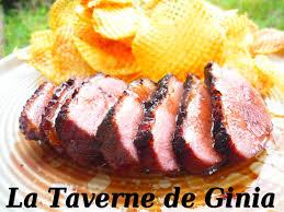cuisiner une oie magrets d oie au miel et pastis la taverne de ginia