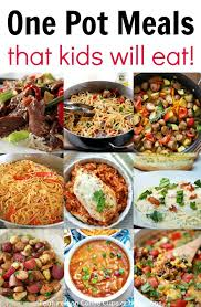 Cheap And Quick Dinner Ideas Kid Friendly One Pot Meals Meals Dinners And Recipes