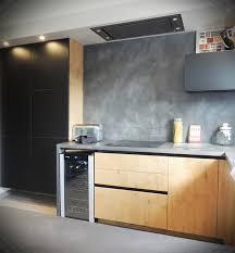 cuisine beton cire bois lzzy co