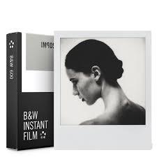 Black And White Designs Instant Black U0026 White Film For Polaroid 600 Camera U2013 The Getty Store