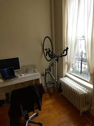 a no drilling free standing vertical bike stand perfect for