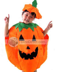 pumpkin costume yopow pumpkin kids costume set dinodirect