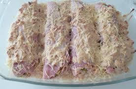 cuisiner du jambon blanc gratin de jambon blanc farci aux poireaux et à la ricotta les