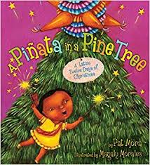 a piñata in a pine tree a twelve days of pat