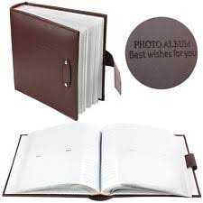 slip in photo albums leather general photo albums boxes ebay