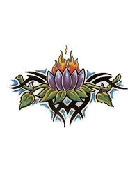 tribal lotus flower free design ideas dr flash