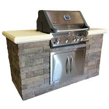 Built In Kitchen Islands by Natural Gas Outdoor Kitchen Island Outdoor Kitchens The Home