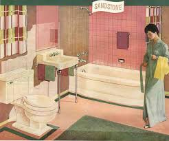 Pink Tile Bathroom by Many Readers Trying To Work With Their 50s And 60s Pink Bathroom