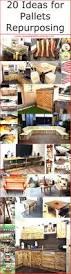 pallets 20 ideas for pallets repurposing wood pallet furniture