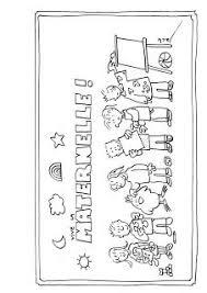 coloriage école à colorier dessin à imprimer la rentree