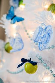 Blue Christmas Decorations At Walmart by Blue U0026 White Christmas Tree Celebrating Everyday Life With