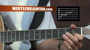 learn to play acoustic guitar john denver inspired 70s country pop