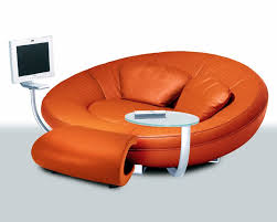 Orange Sofa Chair Modern Sofa Orange Orange Wednesday Sweepstakes Pinterest
