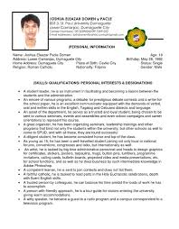 Sample College Freshman Resume by College Freshman Resume Example