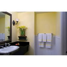 Yellow Bathroom Decor by Interior Simple Modern Bathroom Decoration With Green Mosaic Wall