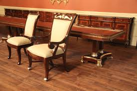 Upholstered Dining Room Chairs With Arms Mahogany Dining Table Designer Furniture High End Extra Large