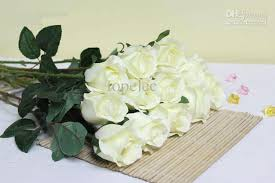 white roses for sale up to 10 mixed color decorative white artificial flowers