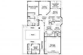 detached guest house plans apartments guest suite floor plans mediterranean house plans