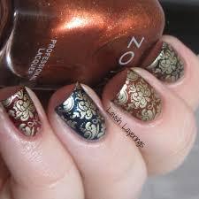 lavish layerings 2 fall inspired nail designs featuring zoya