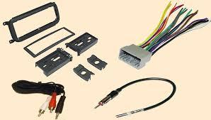 amazon com radio stereo install dash kit wire harness antenna
