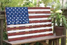 vibrant design wooden american flag wall hanging astonishing diy