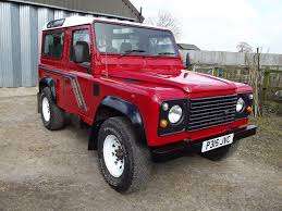 original land rover defender a 1996 land rover defender 90 swb county registration number p315