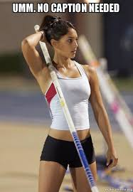 Ummm No Meme - umm no caption needed ridiculously photogenic pole vaulter