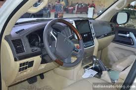 Toyota Land Cruiser Interior 2017 Toyota Land Cruiser Trd Interior In Oman Indian Autos Blog