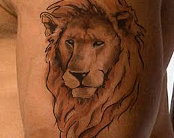 lion temporary tattoo lion head knuckle tattoos different