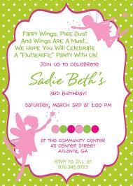 invitation wording imke 3rd birthday ideas fairies pinterest