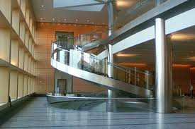 Lobby Stairs Design Goldman Sachs Battery Park Nyc Iacono Iron Design Fabrication