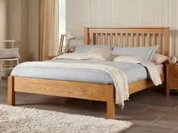 5ft Bed Frame Lincoln American White Oak Kingsize 5ft Bed Frame Bed