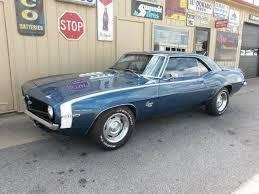 dusk blue camaro 1969 chevy camaro x44 recently restored in original code 51
