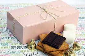 cookie box favors pink blush favor boxes candy boxes cookie boxes gift boxes